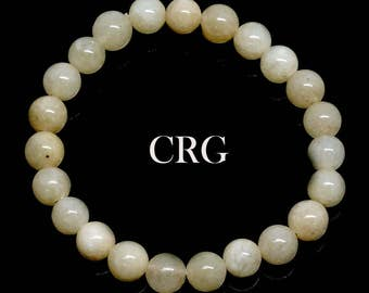 SELECT Round 6-7mm CALCITE Beads Stretch Bracelet (BR97DG)