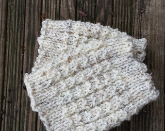 Cream Boot Cuffs - White Boot Cuffs - Boot Toppers - Boot Socks - Women's Accessories