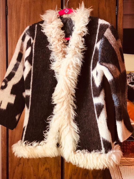 Vintage 60s Penny Lane Coat XS