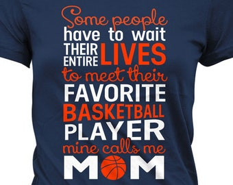 8ea9756d Basketball Mom Shirt Basketball Gifts For Mom Sports Mom Shirts Basketball  T Shirt Mothers Day Sports Fan Gift Joke Ladies Tee MD-454