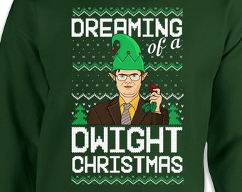 Dwight Christmas Etsy