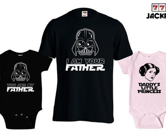 c7e8d65d Matching Father Son Shirts I Am Your Father Shirt Daughter Son Baby  Bodysuit Matching Family Shirts First Fathers Day Mens Todder Tee MD428B