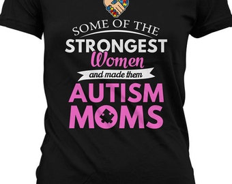 503718f8c95 Funny Autism Awareness Shirt Autism T Shirt Autism Mom T Shirt Gifts For Mom  Advocate Mens Ladies Tee MD-357