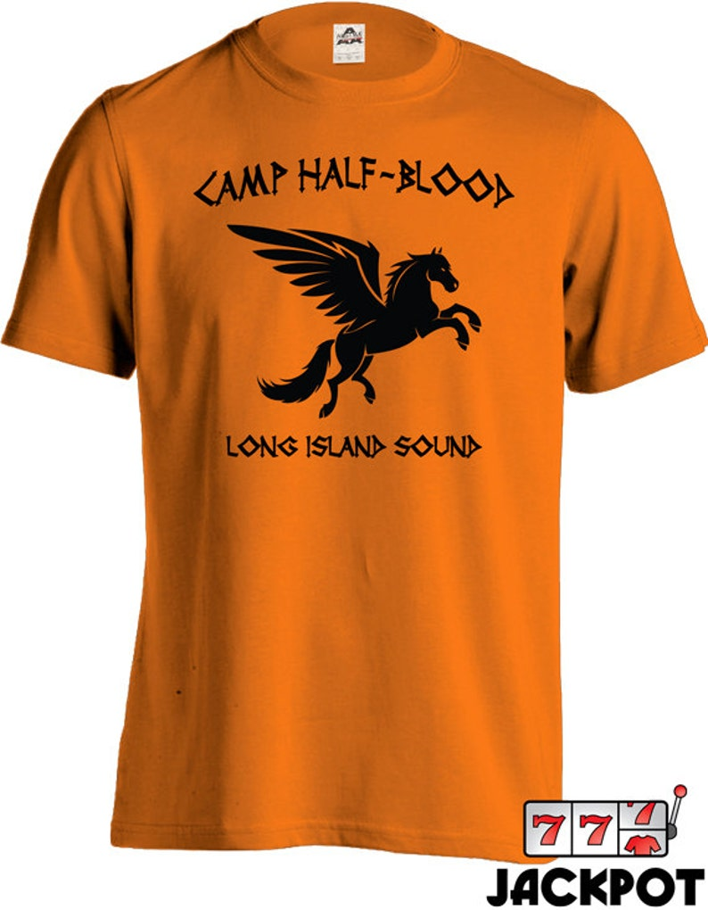 599e67a4 Camp Half Blood T Shirt Percy Jackson Movie Shirt Long Island | Etsy