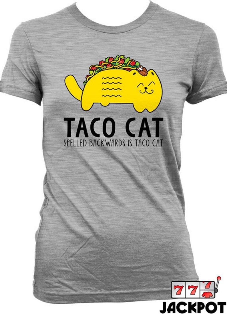 8a4ff198 Funny Taco Shirt Cinco De Mayo T Shirt Taco Cat T Shirt   Etsy