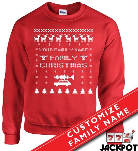 Custom Christmas Sweaters.Family Christmas Vacation Sweater Ugly Christmas Sweater Custom Family Christmas Hoodie Santa Claus Xmas Unisex Sweatshirt Md 260