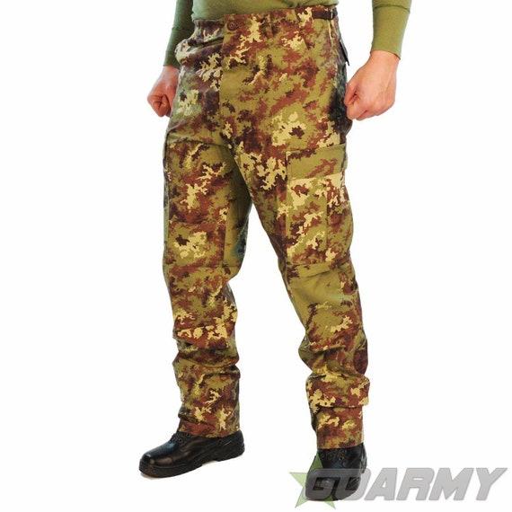 7e3b110676e MFH Italian Army Vegetato Camo BDU Ripstop Trousers   Etsy
