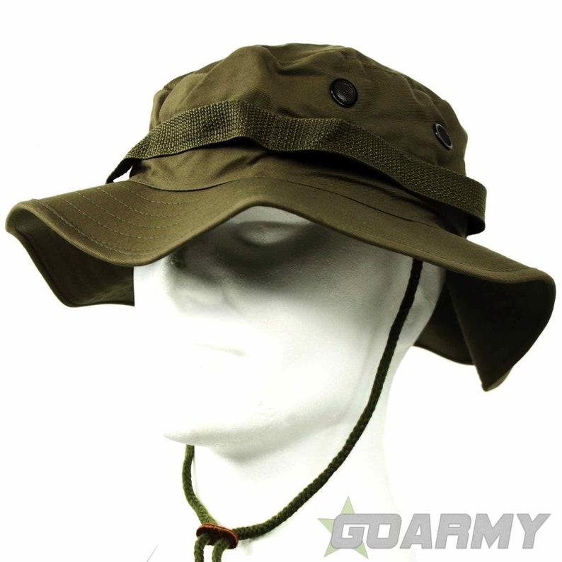 e2594024ba5 U.S Style Jungle Olive Bush Hat