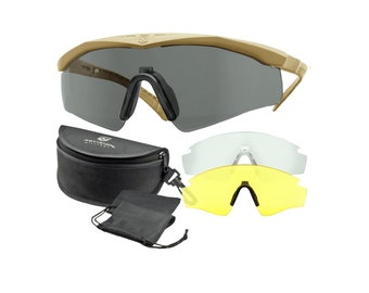 Revision Sawfly Ballistic Glasses Coyote
