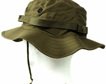 U.S Style Jungle Olive Bush Hat