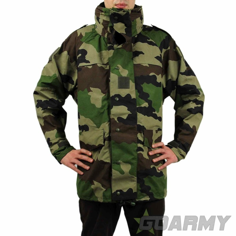 9886c4a2145 French Army CCE Camo Goretex Jacket New