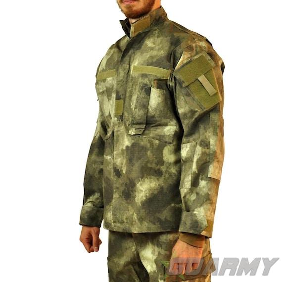 mfh bdu  MFH Atacs BDU Combat Jacket Shirt AU Camo | Etsy