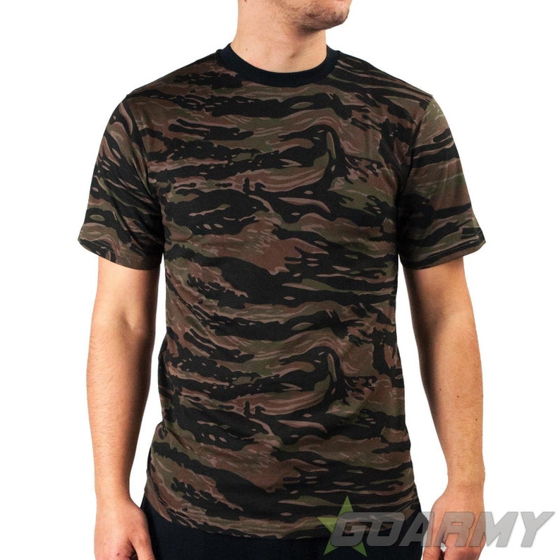 fa30afe4 Russian Tiger Stripe Camo Short Sleeve T-Shirt | Etsy