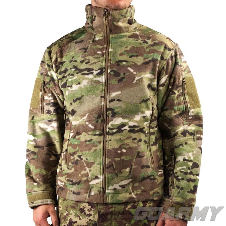 Mil-Tec MTP Delta Fully Waterproof Fleece Jacket