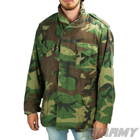 U.S Army Original M65 Woodland Field Jacket