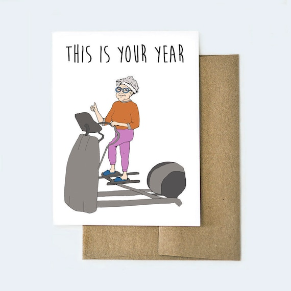 Funny Birthday Card Card For Old Age Best Friend Birthday Etsy