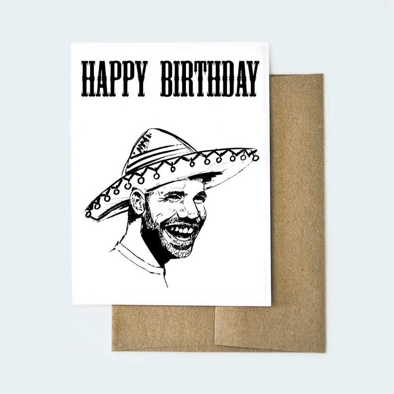Drake Birthday Card Drizzy