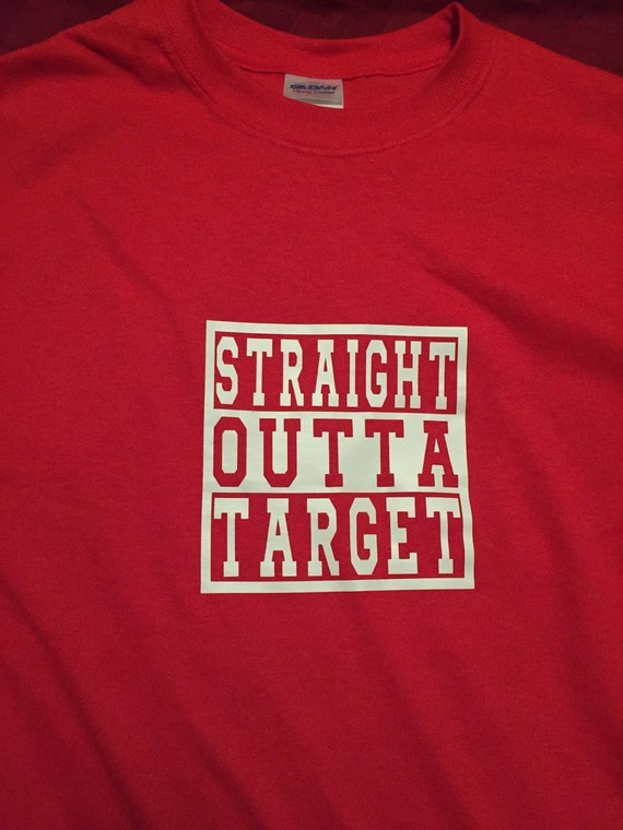 df5a1b56 Funny shirt Straight Outta Target Unisex | Etsy