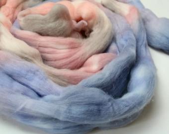 Minerals Hand Dyed Merino Tops (Roving) Braid