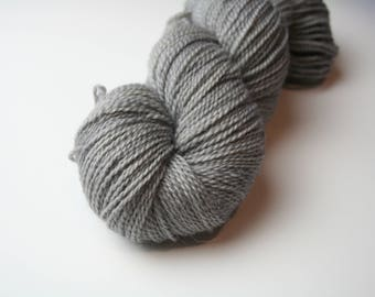Soft as Steel sock weight / fingering weight hand dyed yarn