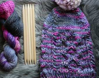 Cable Knit Hat Kit