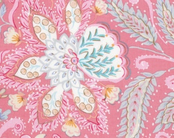 Cotton fabric | Dena Designs | Free Spirit Fabrics | Isabelle | Ornate | PWDF247.Pinkx | Quilting Fabric | Cotton Fabric by the Yard
