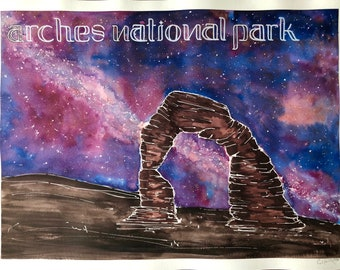Arches National Park Poster Print
