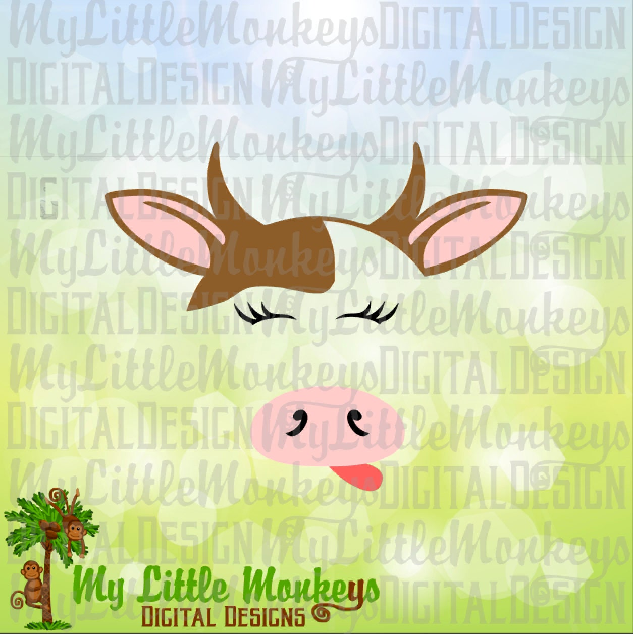Cow SVG Farm SVG Farm Animals Cow Face svg Kids svg Cow | Etsy