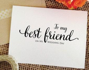 Best Friend Wedding Etsy