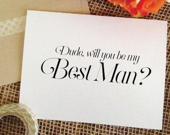 best man invitation etsy