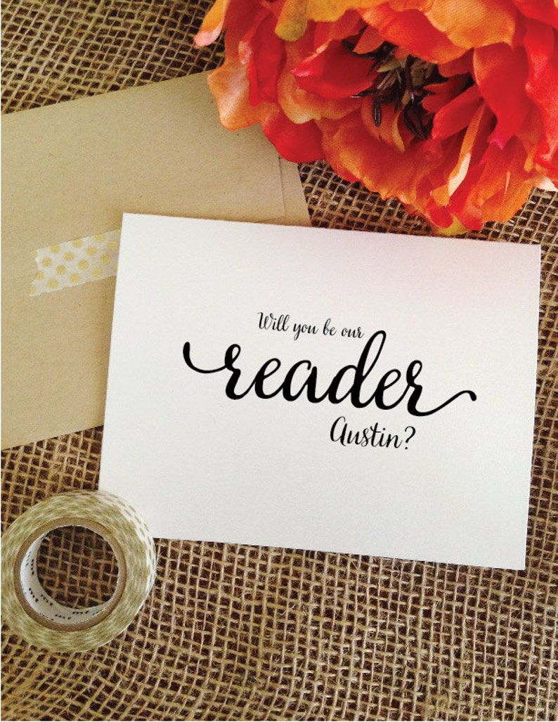 Personalized Will you be our reader Lovely image 0