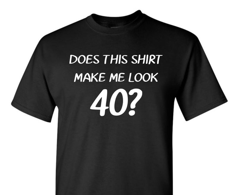 40th Birthday Over The Hill Shirt Gift