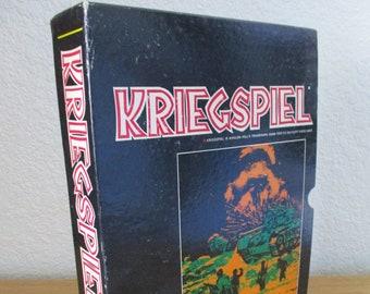 Kriegspiel - 1970 Avalon Hill Bookcase Game #806 - Military Chess Board Game