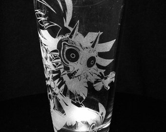 Legend of Zelda- Skull Kid- Majora's Mask Pint Glass