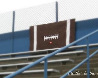 Digital Pattern to make your own Football Stadium Quilt Blanket