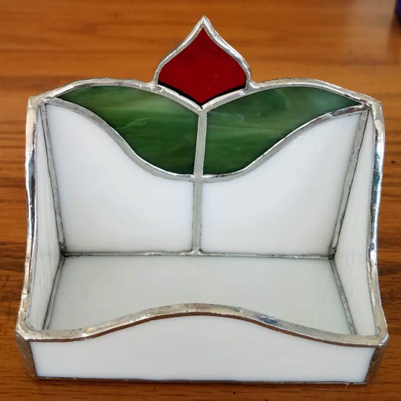 Stained Glass Business Card Holder Etsy