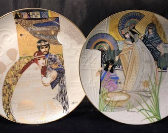 Knowles Collector Plates. Knowles Collectible Plates. Biblical Mothers Series