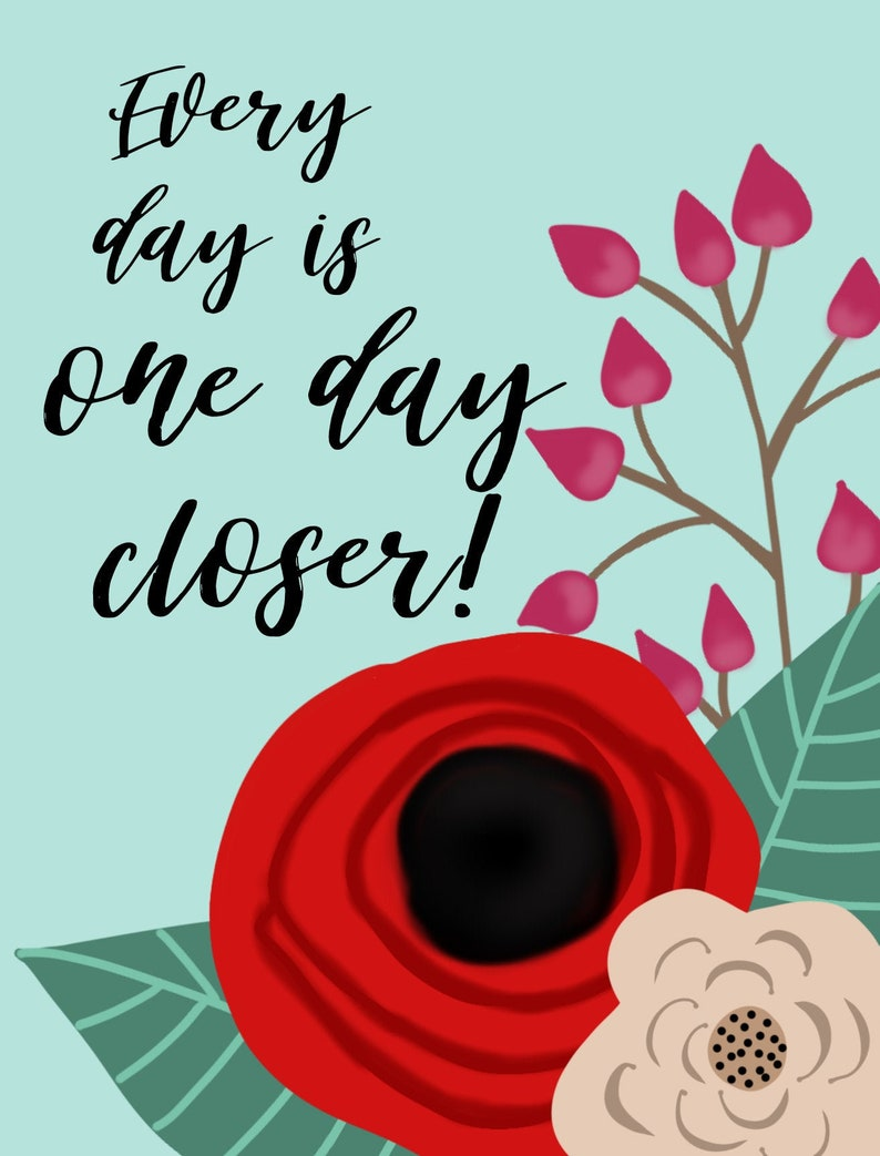 One Day Closer Postcard Pack