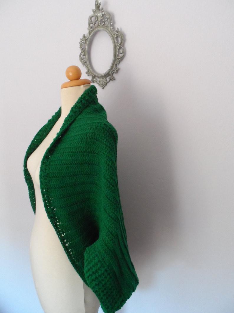 Crochet Cardigan Pattern Plus Size Shrug Pattern Oversized Etsy