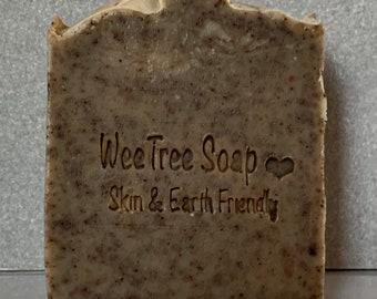 Arran Ale Scrubby Scottish Natural Handmade Exfoliating Soap Bar