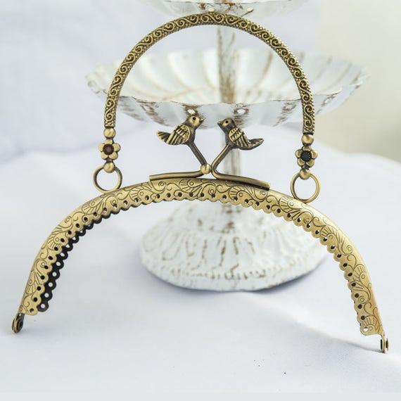 1pc 16cm/6.29 Long coin metal frame portable purse frame | Etsy