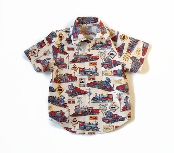 3//4 Boys Thomas The Tank Long Sleeved Tee Shirt Ages 2//3 4//5