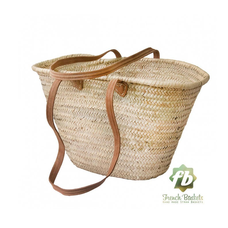 bdf4939696e0 straw bag Handmade French Basket Moroccan Basket french market basket
