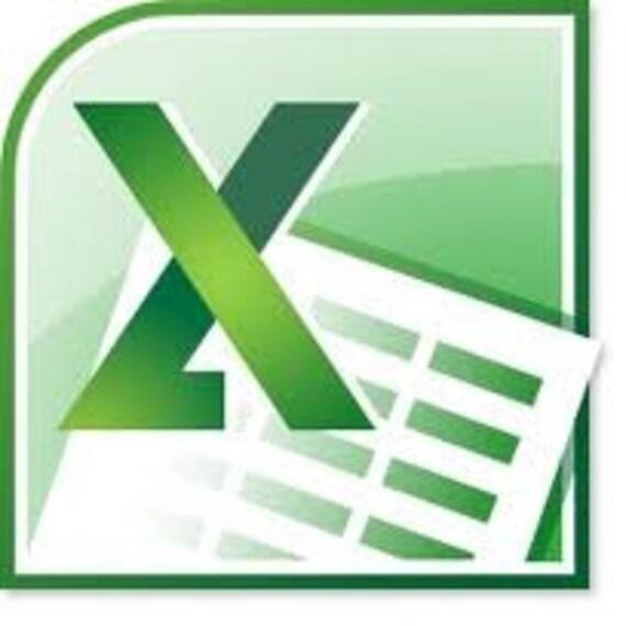 Persönliches Budget-Excel-Tabelle-Vorlage | Etsy