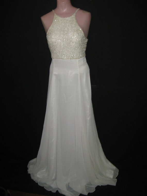 Ivory gown#8068  20%off
