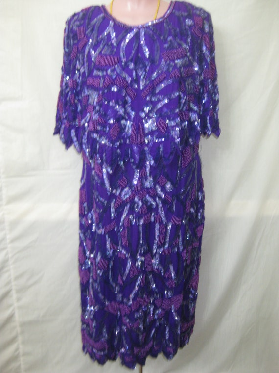 Purple dress#20055