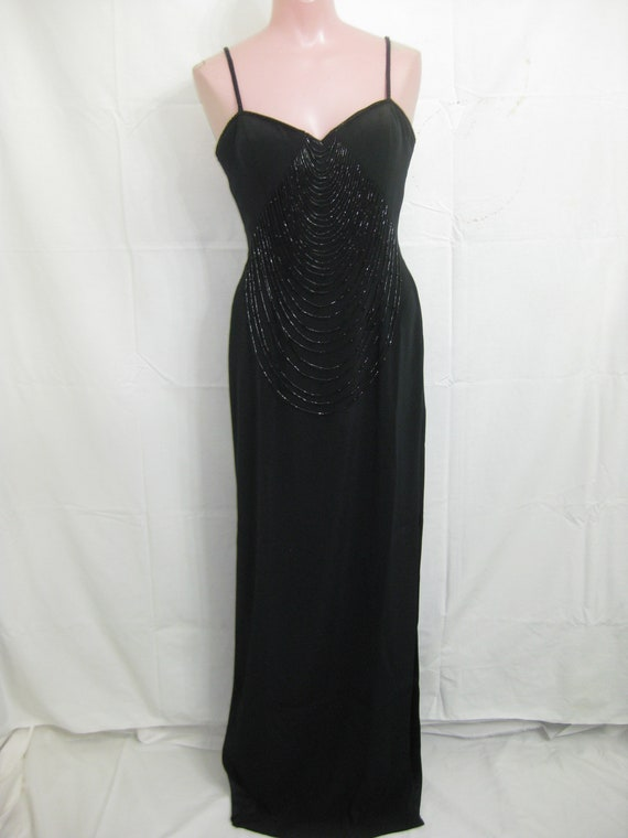 Black gown#19095