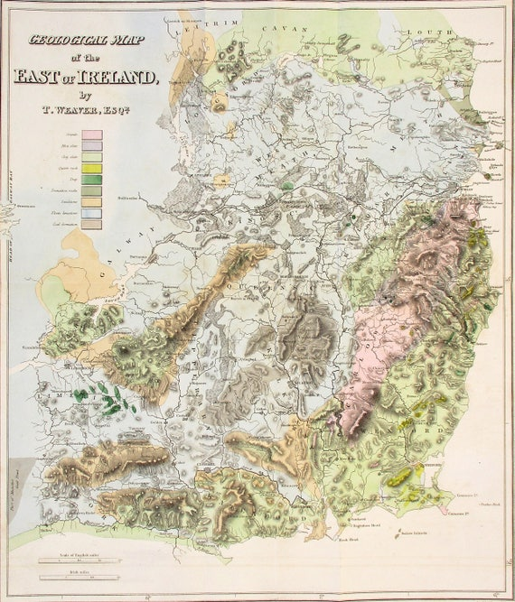 1819 Ireland, Superb Engraved Large Geological Map, Antique. Drogheda on map of tn, map of oh, map of panama, map of wi, map of philadelphia, map of new york, map of colonial pennsylvania, map of az, map of ia, map of mn, map of wv, map usa, map of pennsylvania with cities, google maps pa, map of ms, map of il, county map pa, map of ohio, map of harrisburg pennsylvania, map of western pennsylvania,