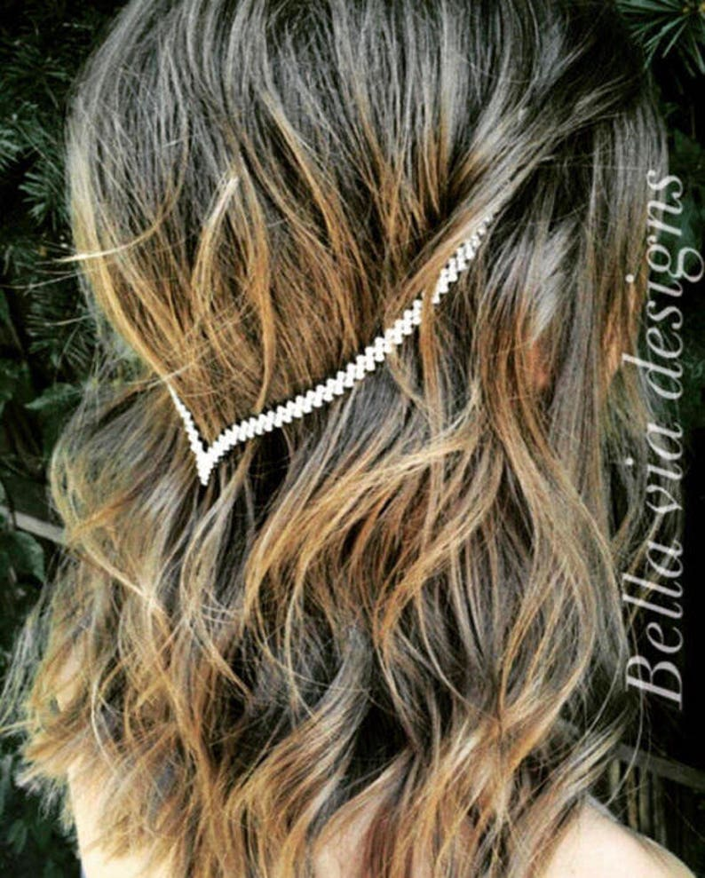 Clip-In Hair Jewelry Delicate Hair Chain Accessory Tribal image 1