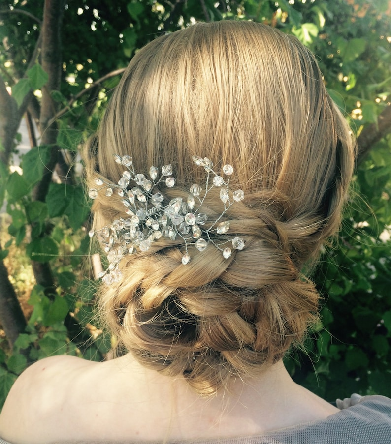 Prom Or Wedding Hair Accessory Exquisite Wedding Hair Clip For Any Special Occasion